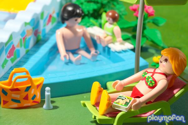 プレイモービル ファンサイト Quot Playmofan Quot Playmobil 4858 Openairpool